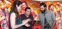 Banjo cast celebrates director's birthday during promotions