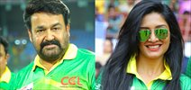 Celebs at Kerala Strikers CCL Match