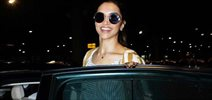 Deepika Padukone returns back from Delhi