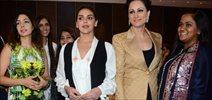 Esha Deol, Divya Khosla Kumar & Arpita Khan at Retail Jeweller India Awards Jury Meet
