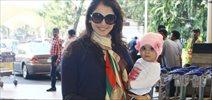 Eesha Koppikhar Snapped At Domestic Airport