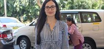 Elli Avram Snapped at Domestic Airport