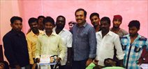 Fans celebrating Suriya birthday by organizing grand blood donation camp