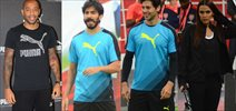 Thierry Henry, Dino Morea, Neha Dhupia, Harshvardhan Kapoor grace friendly football match by Puma
