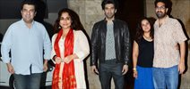 Fitoor Screening For Aditya Roy Kapoor And Family