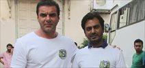 Nawazuddin and Sohail Khan at 'Freaky Ali' promotions