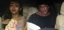 Shah Rukh Khan, Alia Bhatt, Kunal Kapoor, Ali Zafar snapped at Gauri Shinde's 'Dear Zindagi' wrap up bash