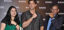 Hrithik Roshan at Rado new collection launch
