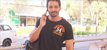 Harshvardhan Rane Snapped at Domestic Airport