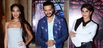 Jacqueline, Ritesh & Lisa Haydon promote Housefull 3 on the sets of Comedy Bachao