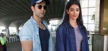 Hrithik Roshan & Pooja Hegde depart for Delhi to promote 'Mohenjo Daro'