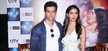 Hrithik Roshan & Pooja Hegde at 'Mohenjo Daro' promotions at Inox