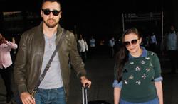 Imran Khan and Avantika Malik Khan snapped at the airport - Pictures
