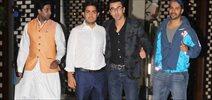 ISL team owners meet with Ranbir, Abhishek, Varun and John at Ambani house