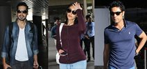 Ileana, Dino Morea, Randeep Hooda and others snapped at airport