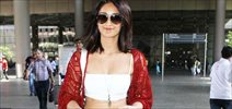Ileana snapped at airport