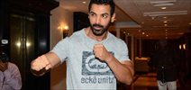 John Abraham snapped at 'Dishoom' promotions in Mumbai