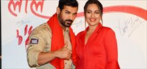 John Abraham and Sonakshi Sinha snapped on the sets of Force 2