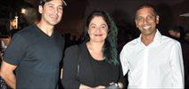 Dino, Pooja Bhatt at JSW Squash Championship dinner