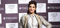 Jacqueline Fernandez walks for Rajesh Pratap Singh