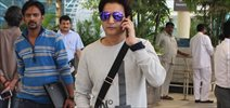 Jimmy Shergill Snapped at Domestic Airport