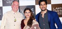 Kajol And Sidharth Malhotra At Hindustan Unilever & Lakme Event