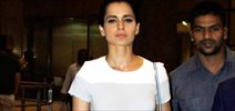 Kangna Ranaut arrives back from Delhi Couture Week