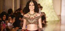 Kangna Ranaut Walks for Manav Gangwani at India Couture Week