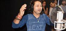 Kailash Kher Snapped At A Song Recording