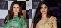Celebs on Lakme Fashion Week red carpet day 2