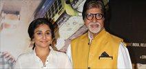 Launch of 'Te3n' with Amitabh Bachchan and Vidya Balan