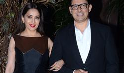 Madhuri Dixit grace Manish Malhotra's 50th birthday bash hosted by Karan Johar - Pictures