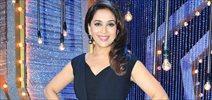 Madhuri Dixit spotted at Filmistan Studio