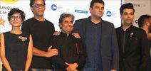 Kangna, Karan Johar and Kiran Rao at MAMI media meet