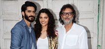Mirzya promotions with Rakeysh Omprakash Mehra, Harshvardhan Kapoor and Saiyami Kher