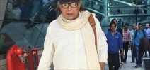 Mithun Chakraborty Snapped at Domestic Airport