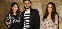 Neha Dhupia, Soha Ali Khan & Vir Das grace the screening of '31st October'