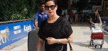 Neelam Kothari snapped at airport