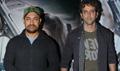 Aamir Khan And Hrithik Roshan At Neerja Screening