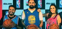 Neha Dhupia & Rannvijay Singh snapped at NBA event