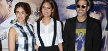 Akshay Kumar, Ileana Dcruz & Esha Gupta grace the press conference of 'Rustom' in Delhi