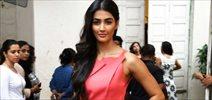 Pooja Hegde snapped promoting 'Mohenjo Daro'