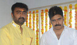 Pawan Kalyan New Film Launch - Pictures