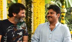 Pawan Kalyan Trivikram Film Opening - Pictures