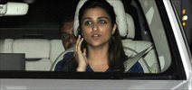 Parineeti Chopra & Sushant Singh Rajput snapped in Khar