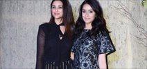 Parineeti Chopra and Shraddha Kapoor grace Manish Malhotra's 50th birthday bash hosted by Karan Johar