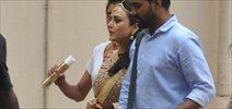 Preity Zinta Snapped At An AD Shoot