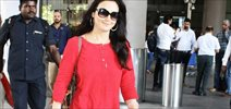 Preity Zinta return post her IPL match snapped at airport
