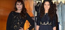 Huma Qureshi, Saiyami Kher and others grace Payal Singhal & Shaheen Abbas' fashion preview