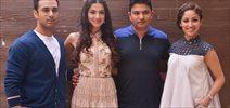 Pulkit Samrat, Divya Khosla Kumar, Bhushan Kumar & Yaami Gautam At Sanam Re Media Meet